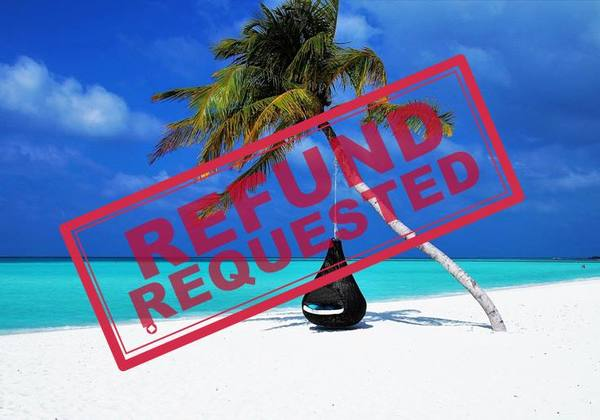 'My friend received an airline refund. Why am I not eligible?'